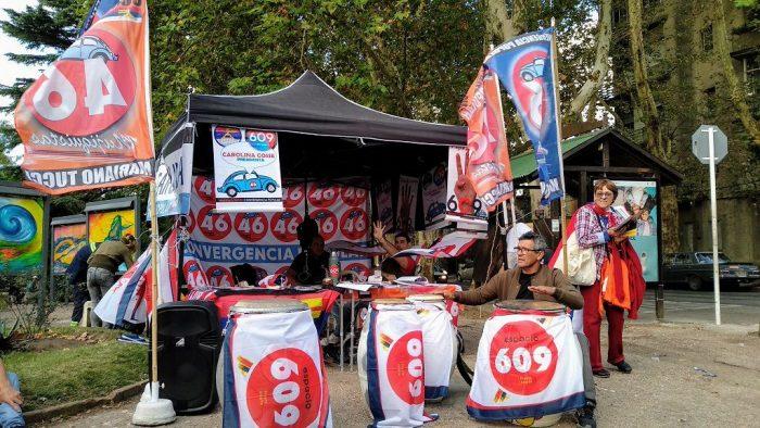Partidos en campaña, Montevideo, 20 de abril de 2019 | Foto: Ángel Arellano