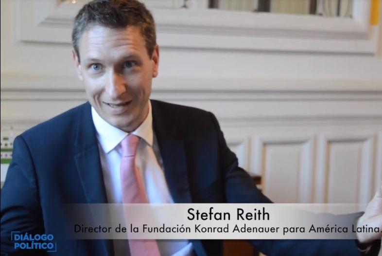 Stefan Reith. director de la KAS para América Latina