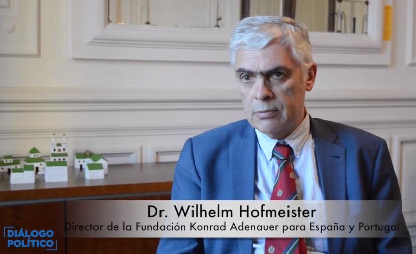 . Wilhelm Hofmeister, director de la Fundación Konrad Adenauer para España y Portugal
