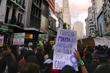 Marcha en el Día de la Mujer. Montevideo, 8 de marzo de 2019 | Foto: Lea Schütz