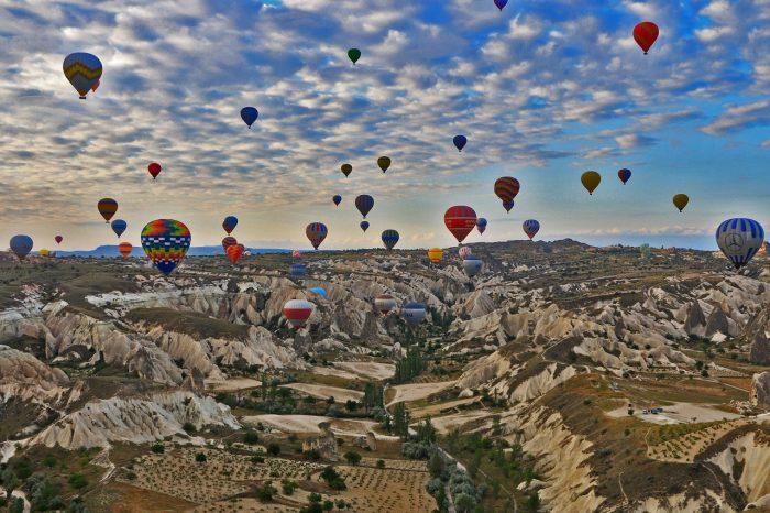 Capadocia, en la región central de Turquía | Foto: pixabay.com
