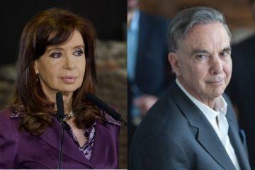 Cristina Fernández (Frente por Todos) y Miguel Ángel Pichetto (Juntos por el Cambio), precandidatos a la vicepresidencia de Argentina | Fotos: Flickr, WikiCommons.