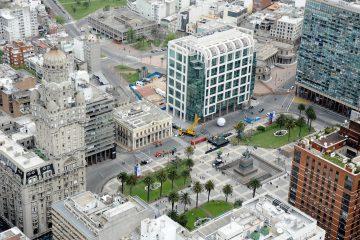 Torre Ejecutiva, en la Plaza Independencia de Montevideo | Foto: WikiCommons
