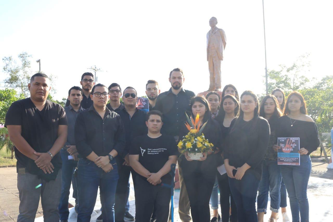 La jornada de homenaje se llevó a cabo en 16 países de América y Europa.