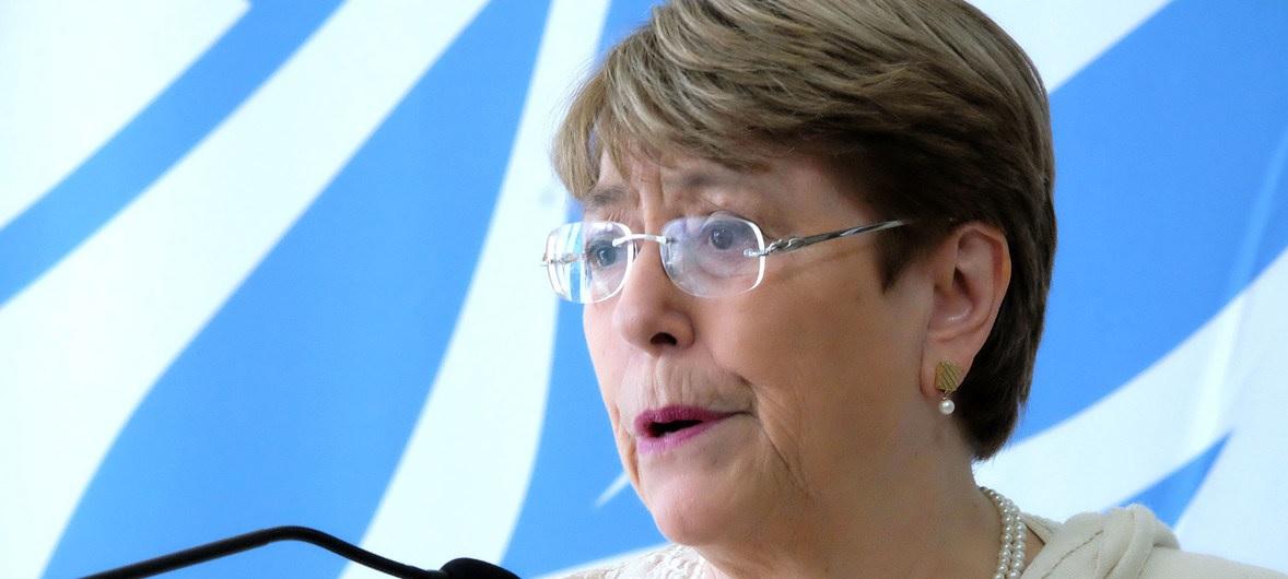 Michelle Bachelet, alta comisionada de la ONU para los DDHH | Foto: Noticias ONU