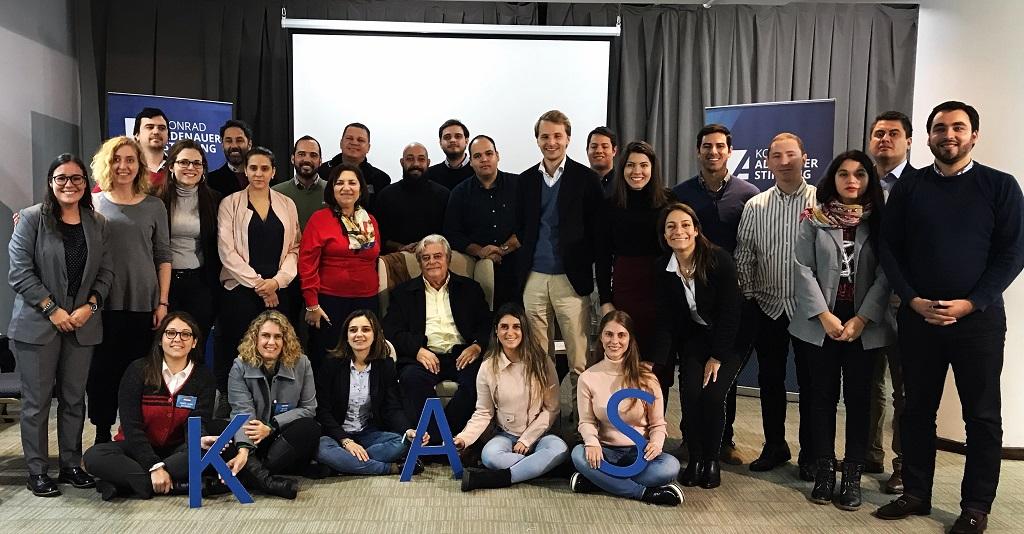 Programa de Observación Electoral de las internas partidarias de Uruguay con delegados internacionales invitados por la KAS, 30.6.2019 | Foto: KAS Montevideo