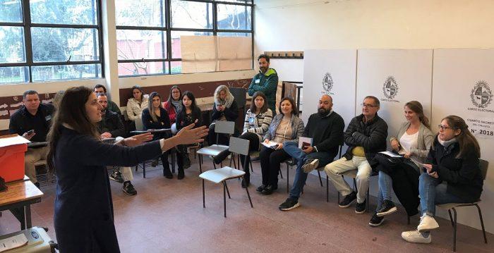 Programa de Observación Electoral de las internas partidarias de Uruguay con delegados internacionales invitados por la KAS, 30.6.2019   Foto: KAS Montevideo