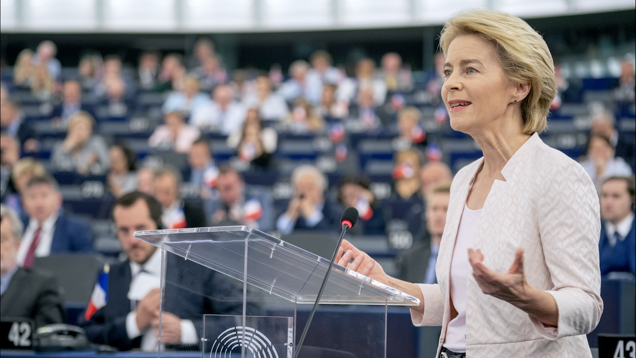 Ursula von der Leyen | Foto: Parlamento Europeo, vía WikiCommons