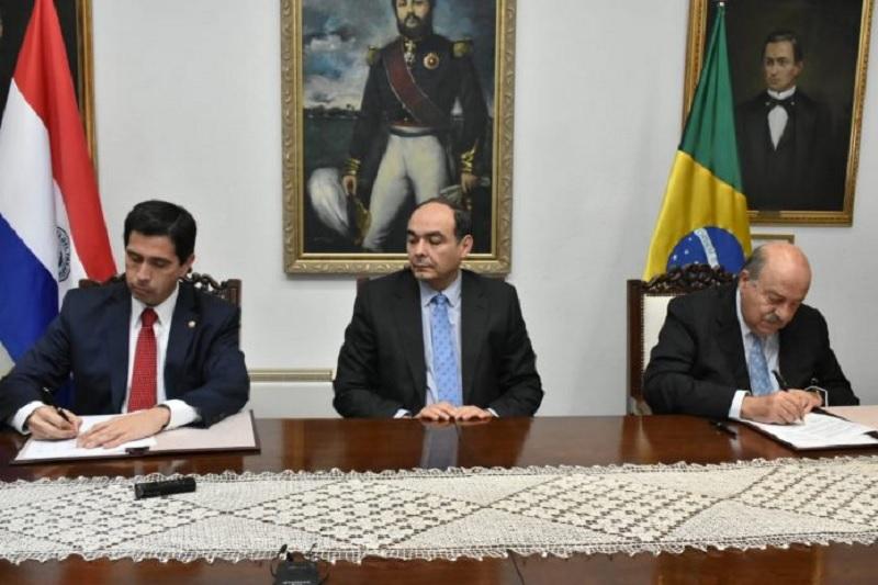 Paraguay y Brasil dejan sin efecto el acta bilateral, 1 agosto 2019 | Foto: IP