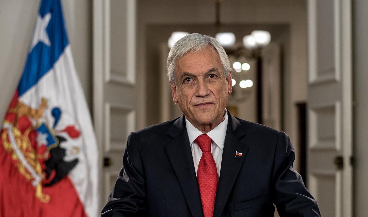 Sebastián Piñera, presidente de Chile | Foto: Gobierno de Chile