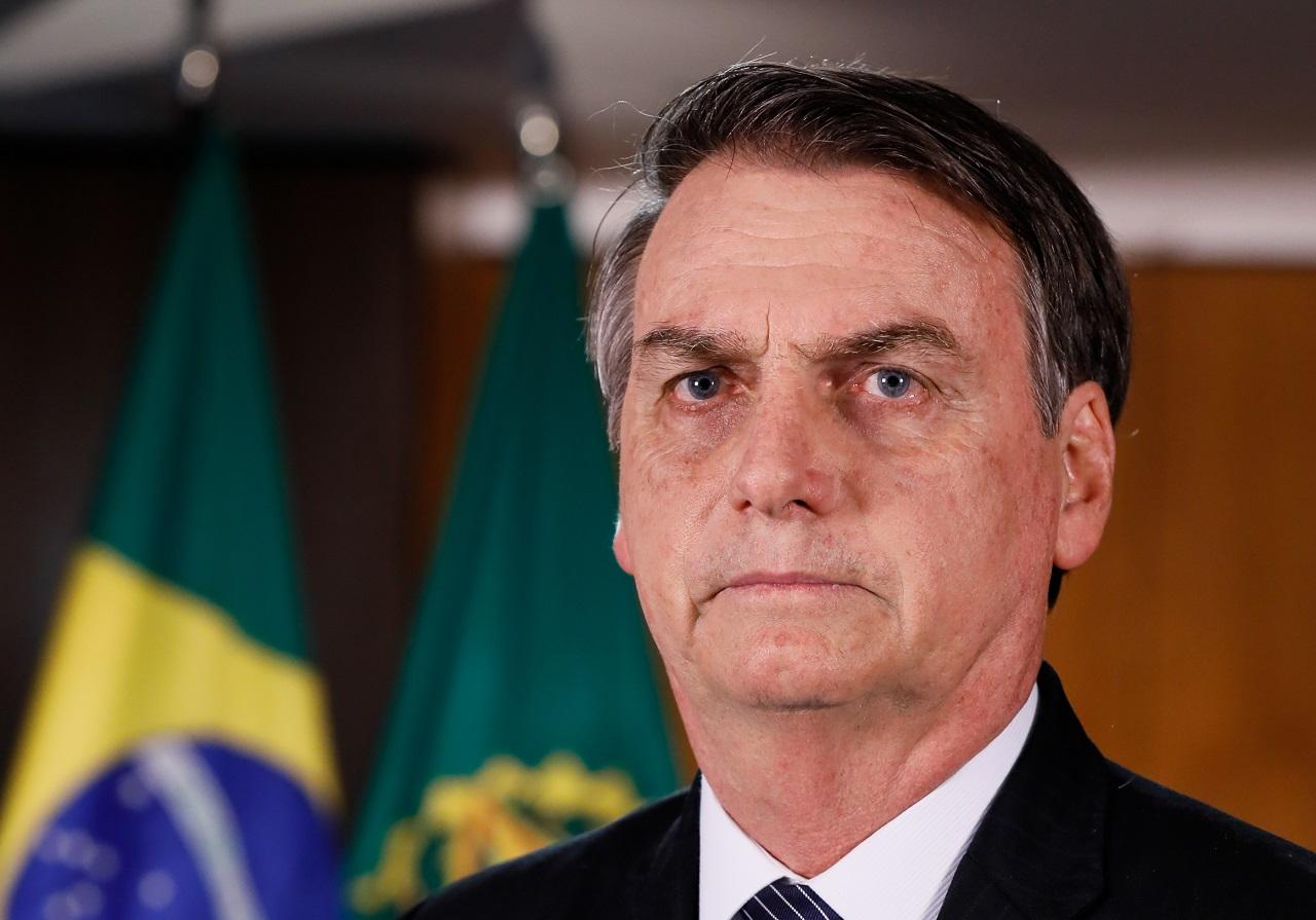 (Brasília - DF, 24/04/2019) Pronunciamento do Presidente da República, Jair Bolsonaro. Foto: Isac Nóbrega/PR