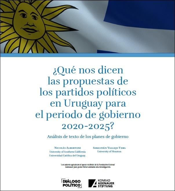 ¿Qué nos dicen las propuestas de los partidos políticos en Uruguay para el periodo de gobierno 2020-2025?
