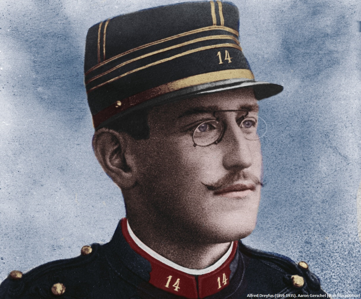 Alfred Dreyfus (1859-1935). Fuente: Aaron Gerschel (dominio público)