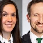 Nicole Stopfer y Dr. Georg Dufner
