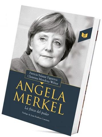 Angela Merkel. Carátula del libro