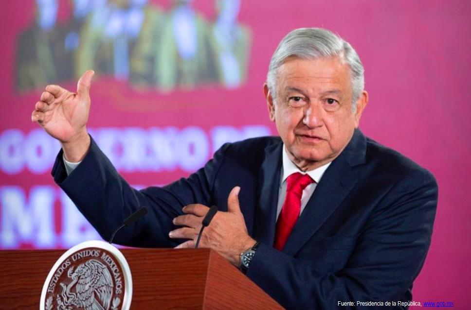 AMLO, conferencia de prensa   Foto: Presidencia de la República, www.gob.mx