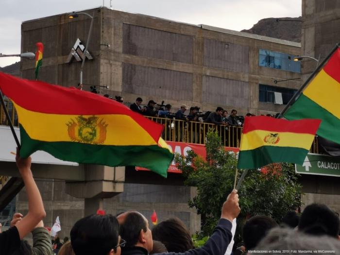 Manifestaciones_en_Bolivia_2019_| Foto: Mandarina, vía WikiCommons