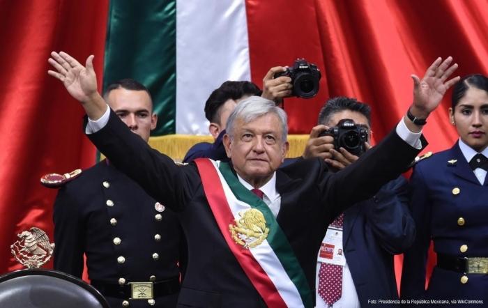 Presidente AMLO | Foto: Presidencia de la República Mexicana, vía WikiCommons