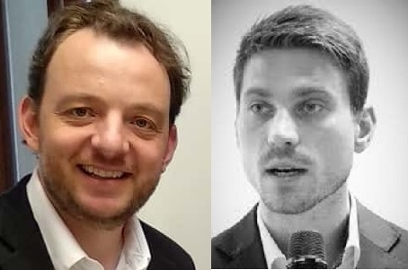 Sebastian Grundberger y Thomas Schaumberg