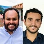Juan Sebastián Delgado y Felipe Mendoza